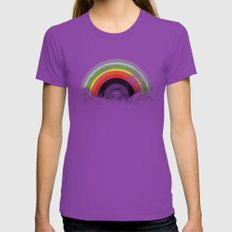 Rainbow Classics Womens Fitted Tee Ultraviolet SMALL