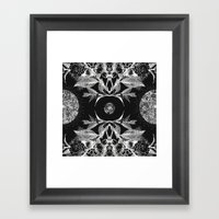 BLACK AURA Framed Art Print