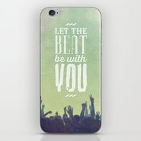 Let The Beat iPhone & iPod Skin