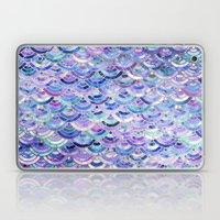 Marble Mosaic in Amethyst and Lapis Lazuli Laptop & iPad Skin