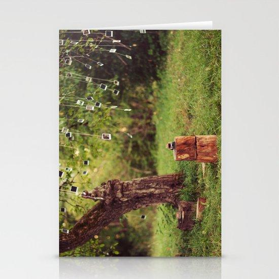 Polaroid Tree Stationery Card