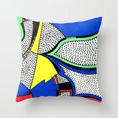 Print #8 Throw Pillow