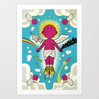 Love & Hate Art Print
