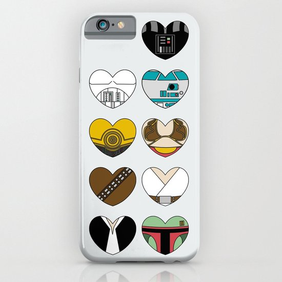 Character Hearts iPhone & iPod Case