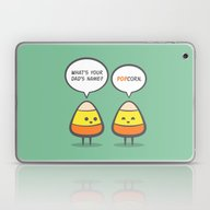 Laptop & iPad Skin featuring Candy Corny by Slugbunny
