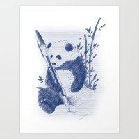 Selfpreservation Art Print