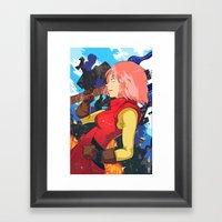Haruko Framed Art Print