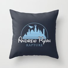 Andrew Ryan / Rapture Throw Pillow