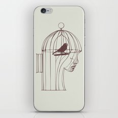 Be Alone iPhone & iPod Skin