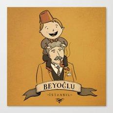 Beyoglu, İstanbul Canvas Print