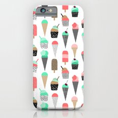 Ice Cream - Summer Fresh… iPhone 6 Slim Case
