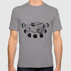 Hellhound Mens Fitted Tee Athletic Grey SMALL