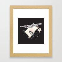Changlourious Basterds Framed Art Print
