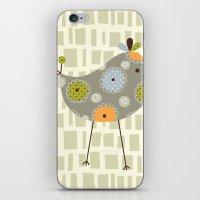 Grey Tweetie Bird iPhone & iPod Skin