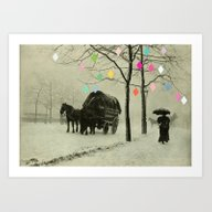 Christmas Day Art Print