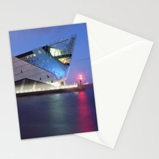 The Deep at Night Stationery Cards