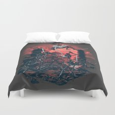The Showdown Duvet Cover