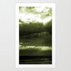 Layered Storm Art Print