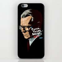 Tinker, Tailor, Solder, Spy iPhone & iPod Skin
