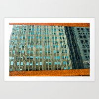 Building On [in] The Ref… Art Print
