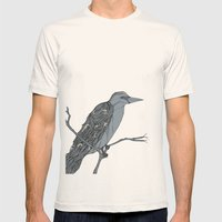 The Rook Mens Fitted Tee Natural SMALL