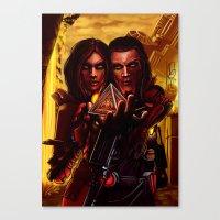 SWTOR - Sith Twins Selfi… Canvas Print