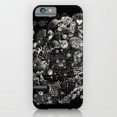 Spark-Eyed Oblivion Cascade Blues iPhone 6 Slim Case