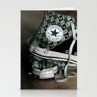 Worn Out Chucks Stationery Cards
