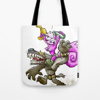 Out For A Romp Tote Bag