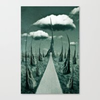 forbidden gateway Canvas Print