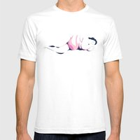 Dormant Girl n.2 Mens Fitted Tee White SMALL