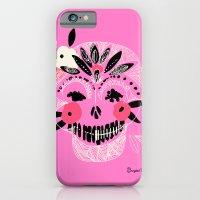 Tribal Boho Skull iPhone 6 Slim Case