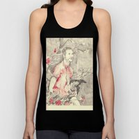 RiFF RAFF With ReD ROSeS Unisex Tank Top