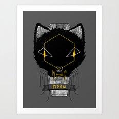 Le Chat Sinistre Art Print