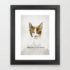 Lilou Framed Art Print