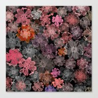 Canvas Print featuring Flower Carpet(39). by Mary Berg