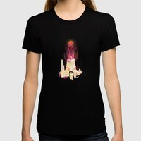 Ludibrium Womens Fitted Tee Black SMALL