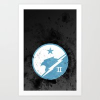 Halo - Blue Team Art Print