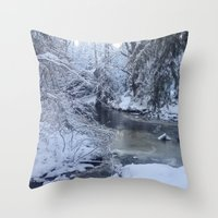 St-André River Throw Pillow