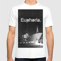 Euphoria Mens Fitted Tee White SMALL