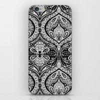 Simple Ogee Black & Whit… iPhone & iPod Skin