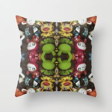 Bath-time Throw Pillow