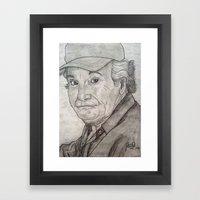 WYNCELL Framed Art Print