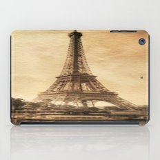 Vintage Eiffel Tower 2 iPad Case