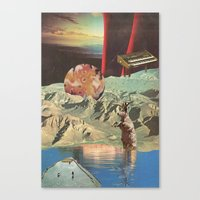 distant sounds (with mariano peccinetti) Canvas Print