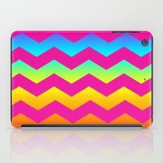Rainbow Zig - Zag iPad Case