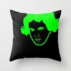 I __ Music Throw Pillow