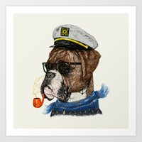 Mr.Boxer II Art Print
