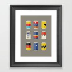 Pop Culture Framed Art Print
