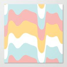 Ice-Cream Drip 2 Canvas Print